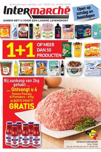 Intermarché reclame folder (geldig t/m 23-02)