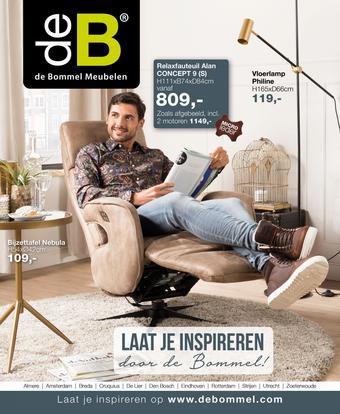 De Bommel Meubelen reclame folder (geldig t/m 01-03)