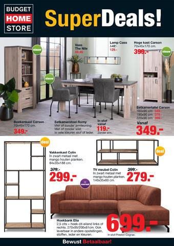 Budget Home Store reclame folder (geldig t/m 01-03)