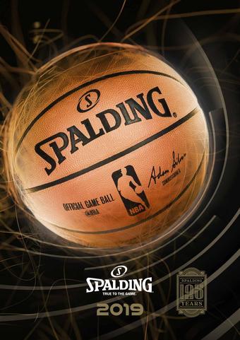 Spalding catalogue publicitaire (valable jusqu'au 30-04)