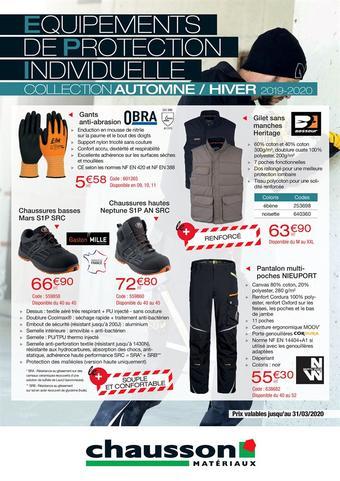 Chausson Matériaux catalogue publicitaire (valable jusqu'au 29-02)
