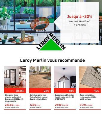 Leroy Merlin catalogue publicitaire (valable jusqu'au 24-02)