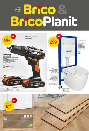 Brico catalogue publicitaire (valable jusqu'au 17-02)