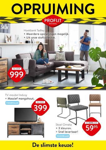 Profijt Meubel reclame folder (geldig t/m 28-02)