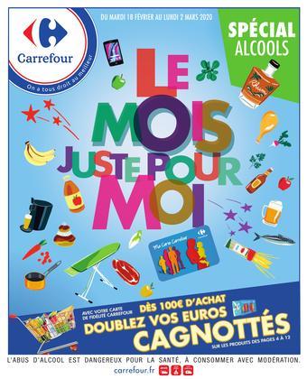 Carrefour catalogue publicitaire (valable jusqu'au 02-03)