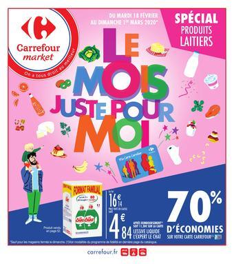 Carrefour Market catalogue publicitaire (valable jusqu'au 01-03)