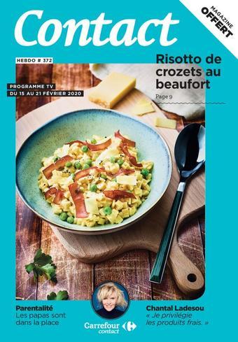 Carrefour Contact catalogue publicitaire (valable jusqu'au 21-02)