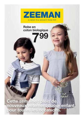 Zeeman catalogue publicitaire (valable jusqu'au 21-02)