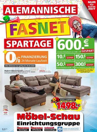 Möbel-Schau Prospekt (bis einschl. 26-02)