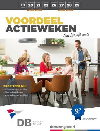 DB keukens reclame folder (geldig t/m 29-02)