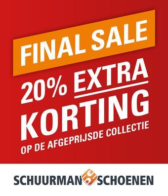 Schuurman Schoenen reclame folder (geldig t/m 01-03)