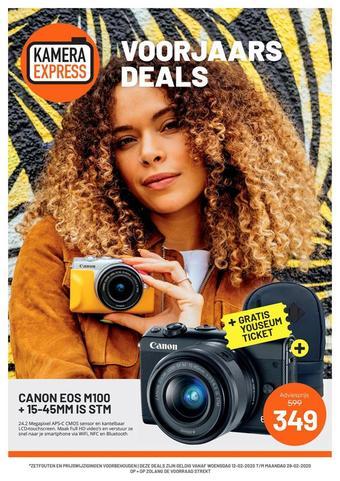 Kamera Express reclame folder (geldig t/m 29-02)