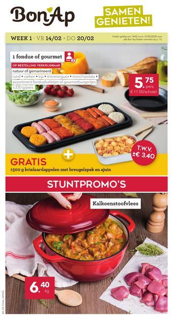 Bon Ap reclame folder (geldig t/m 27-02)