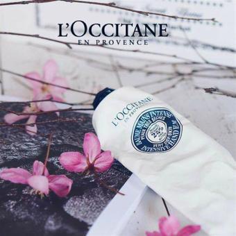 L'Occitane reclame folder (geldig t/m 31-03)