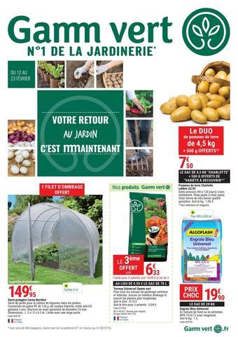 Gamm vert catalogue publicitaire (valable jusqu'au 23-02)