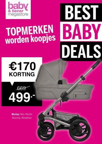 Baby & Tiener reclame folder (geldig t/m 29-02)
