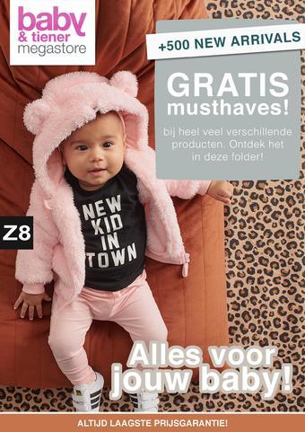 Baby & Tiener reclame folder (geldig t/m 22-02)