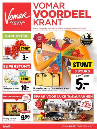 Vomar reclame folder (geldig t/m 22-02)
