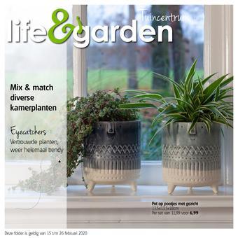 Life & Garden reclame folder (geldig t/m 26-02)