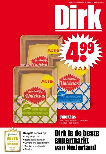 Dirk reclame folder (geldig t/m 22-02)