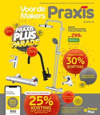 Praxis reclame folder (geldig t/m 23-02)