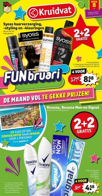 Kruidvat reclame folder (geldig t/m 23-02)