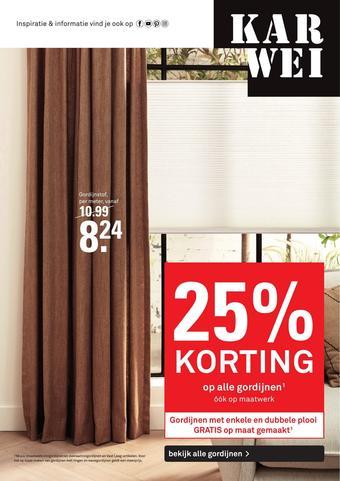 Karwei reclame folder (geldig t/m 23-02)