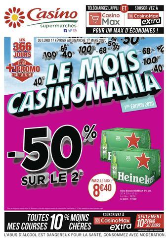 Casino Supermarchés catalogue publicitaire (valable jusqu'au 01-03)