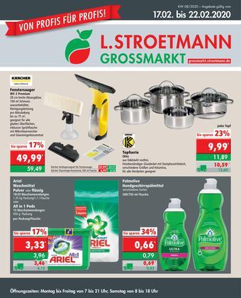 L. STROETMANN GROSSMARKT Prospekt (bis einschl. 22-02)