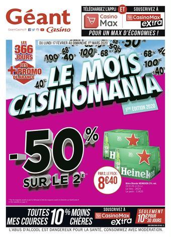 Géant Casino catalogue publicitaire (valable jusqu'au 01-03)