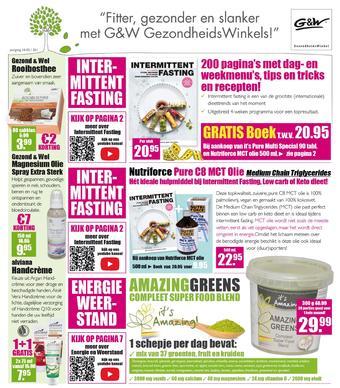 Gezond & Wel reclame folder (geldig t/m 23-02)
