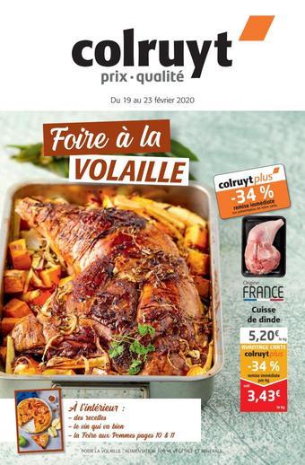 Colruyt catalogue publicitaire (valable jusqu'au 23-02)