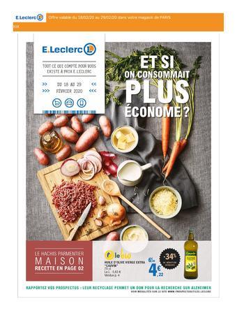 E.Leclerc catalogue publicitaire (valable jusqu'au 29-02)