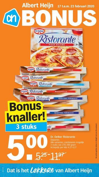 Albert Heijn reclame folder (geldig t/m 23-02)