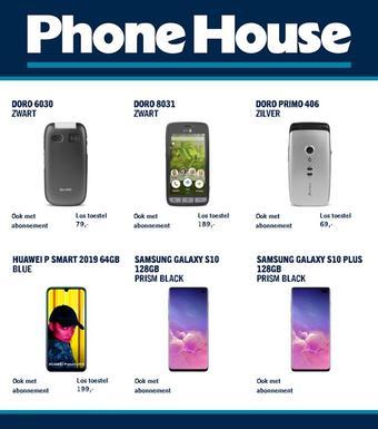 Phone House reclame folder (geldig t/m 09-03)