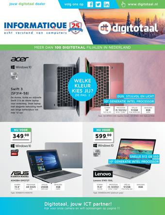 Informatique reclame folder (geldig t/m 08-03)