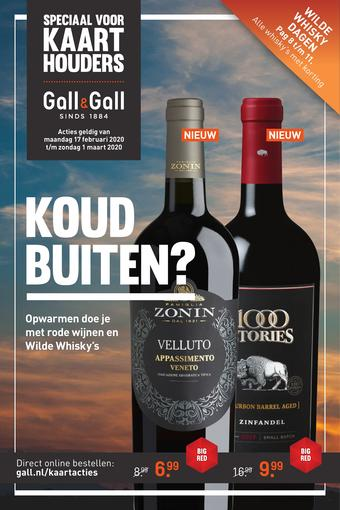 Gall & Gall reclame folder (geldig t/m 01-03)