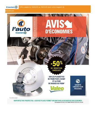 E.Leclerc L'Auto catalogue publicitaire (valable jusqu'au 29-02)