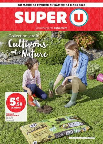 Super U catalogue publicitaire (valable jusqu'au 14-03)