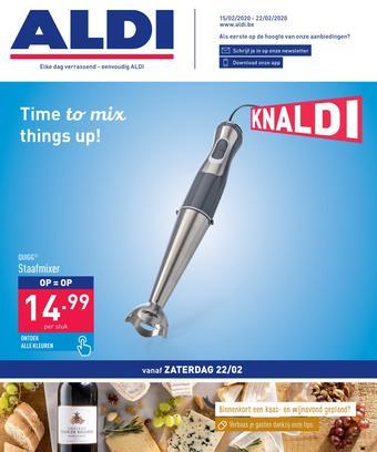 ALDI reclame folder (geldig t/m 22-02)