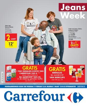 Carrefour reclame folder (geldig t/m 02-03)