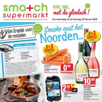 Smatch reclame folder (geldig t/m 25-02)