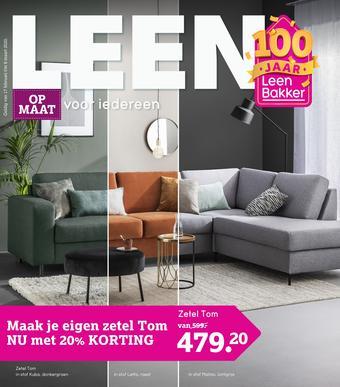 Leen Bakker reclame folder (geldig t/m 08-03)