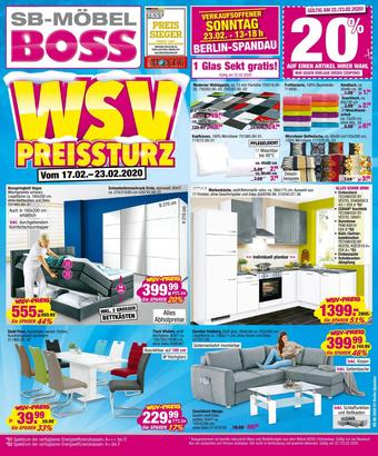 Möbel Boss Prospekt (bis einschl. 23-02)