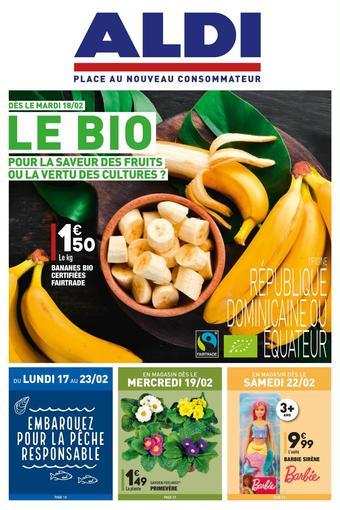 ALDI catalogue publicitaire (valable jusqu'au 24-02)