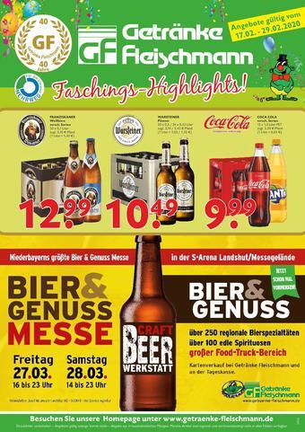 Getränke Fleischmann Prospekt (bis einschl. 29-02)