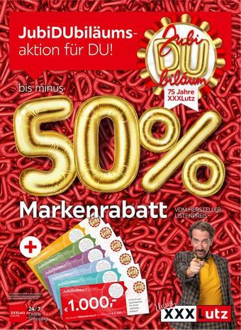 XXXLutz Werbeflugblatt (bis einschl. 18-02)