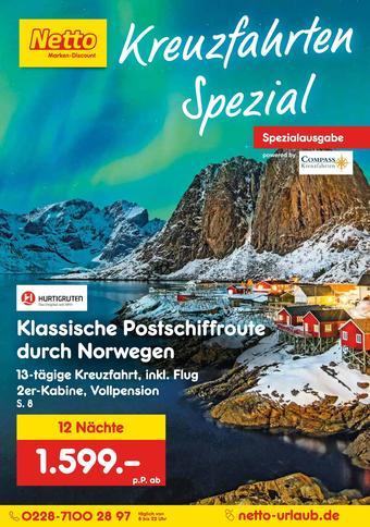 Netto Reisen Prospekt (bis einschl. 29-02)