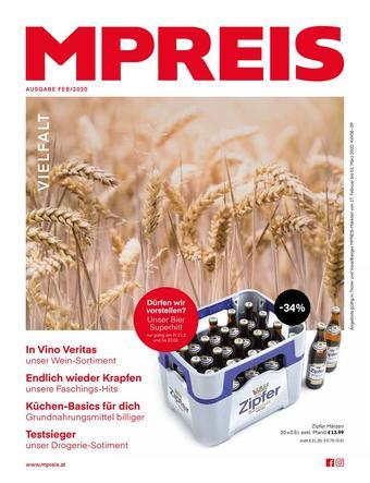 MPreis Werbeflugblatt (bis einschl. 01-03)