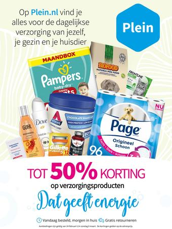 Plein.nl reclame folder (geldig t/m 08-03)